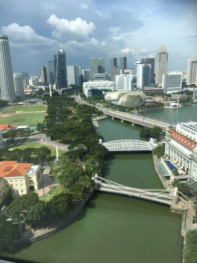 本社ビルからの眺め1